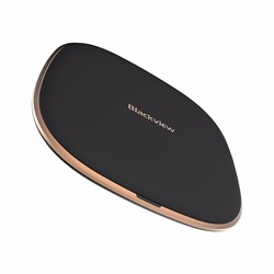 Blackview W1 Round Shape Qi Standard Wireless Charger For Blackview BV5800 Pro 10W Type C Other Smartphones