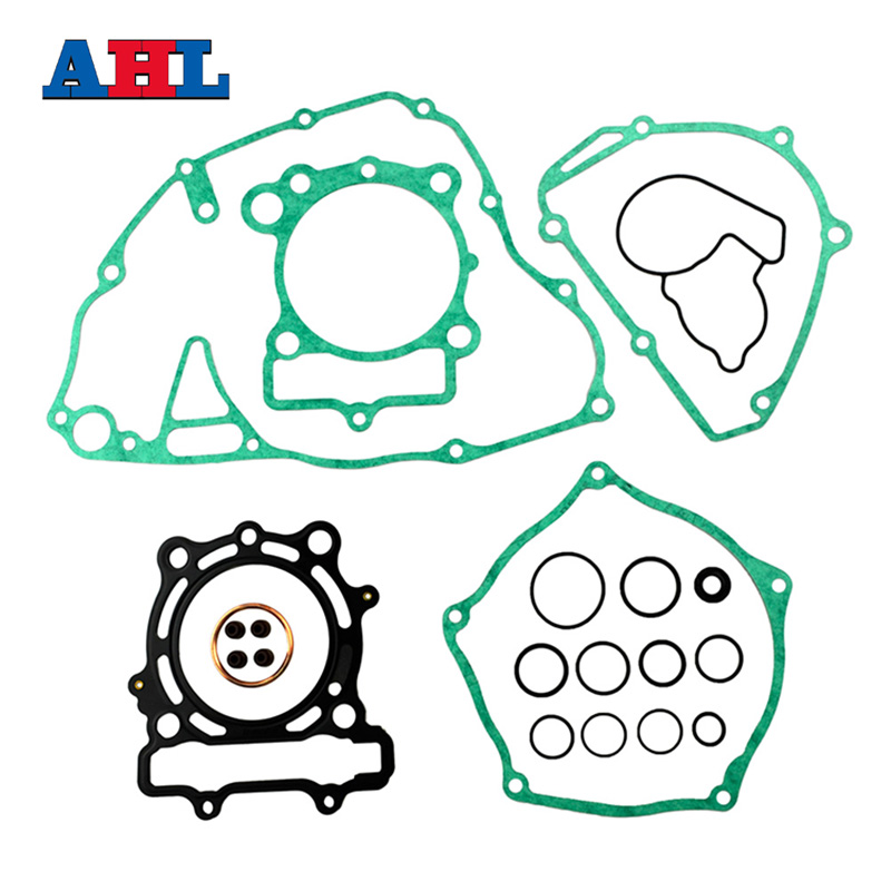 Motorcycle Engine Parts Complete Cylinder Gaskets Kit For KAWASAKI KXF250 KX250F 2009-2016 Stator Cover Gasket ahl motorcycle head cylinder gaskets engine starter cover gasket & oil seal kit for honda vt250 magna 250 racing replacement