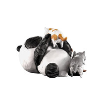 Mighty Jaxx CACOOCA PANDA Art Figurine Panda Statue Home Decoration Accessories For Living Room Xmas Gift R1733