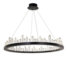 Postmodern luxurious Natural Crystal Light LED Luster chandelier living room chandeliers multiple choices lighing