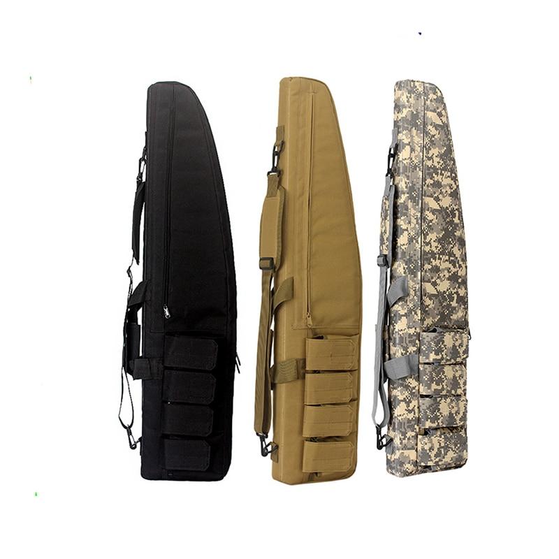 Prix pour 130 cm Tactique Pistolet Sac Airsoft Paintball Chasse Tir Rifle Étui À Fusil Carabine Fusil de Chasse Sac