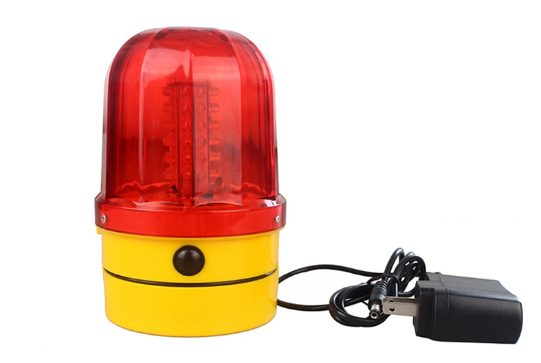 Recharge Style LED Traffic Safety Warning Lights, Car Dome Rotating Flashing Light With The Magnet