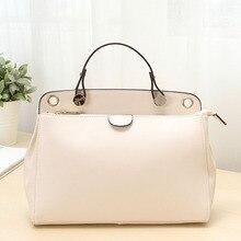 Women Bags Leather Handbags Designer Brand Beige/Pink/Blue 4P0478