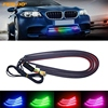 4Pcs Set 63cm Car RGB LED Strip 5050 36SMD DC12V RGB Car Grille LED Strip Symphony