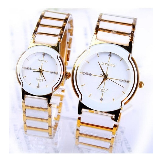 Famous Brand New Leisure Luxury Watches Women High Imitation Ceramics Rhinestones Ladies Quartz Watch Relogio Feminino Clock