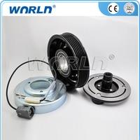 Ar condicionado automotivo compressor embreagem 6PK 12 V para Mazda M6