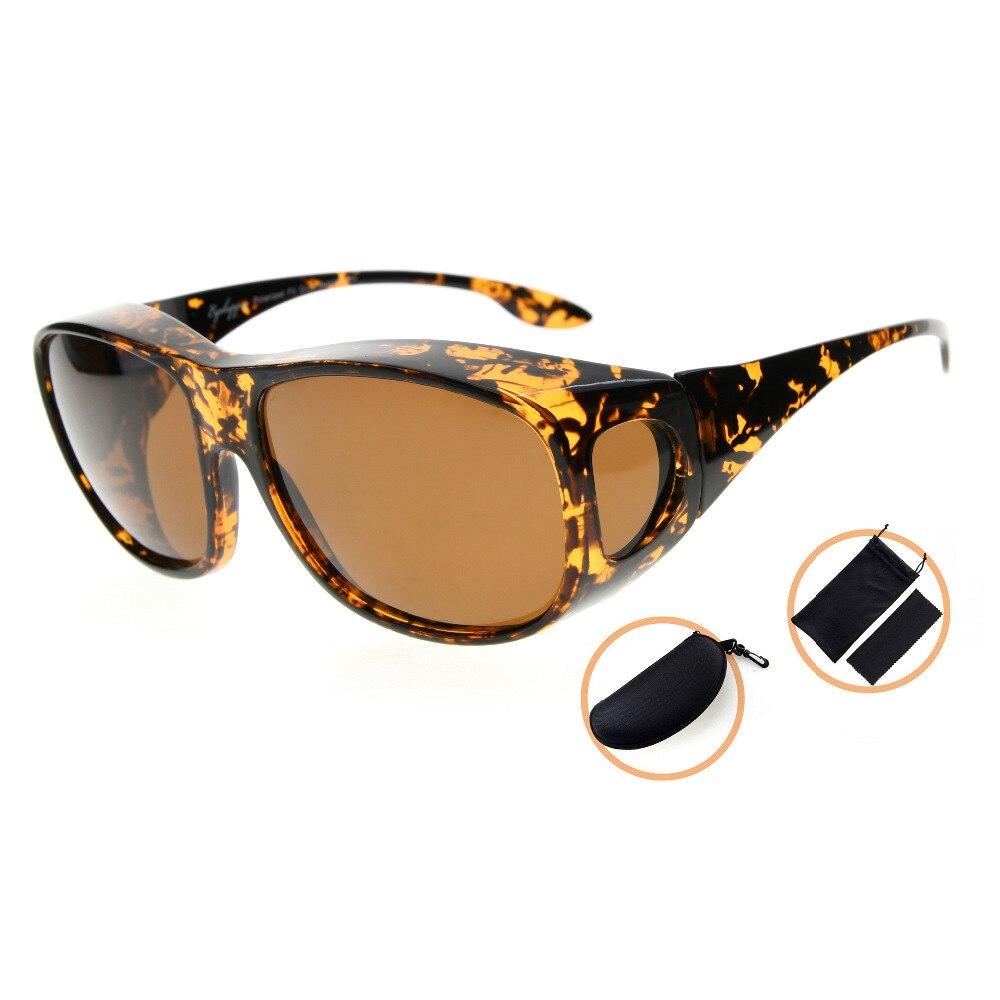 1b83edc035 S030 eyekepper retro estilo grande Objetivos Polarized fitover Gafas de Sol  para la prescripción Gafas