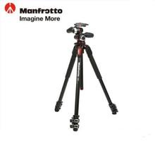 Manfrotto New MK190XPRO3-3W Aluminum Tripod Kit Professional Tripod With 3D Head Camera Support For Canon Nikon Digital Camera