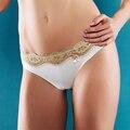 Новый Год Подарок, Новый Приход Женщин Прекрасный Sexy Кружева Стринги Underwear Сплошной Цвет Леди Трусики Цветок Трусики Удобные Стринги