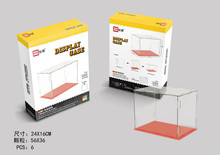 Alen  Mini Qute WISE HAWK big display case Baseplate box diamond plastic building blocks model brick educational toy