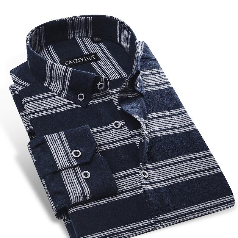 Men 39 S 100 Percent Cotton Brushed Flannel Dress Shirt