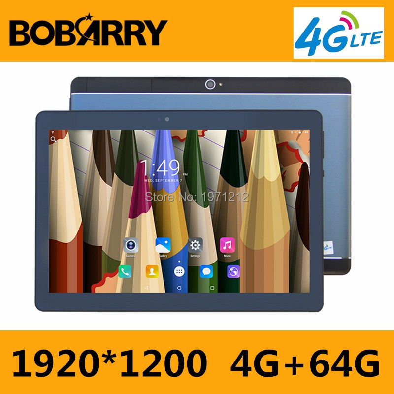 DHL Free Shipping 10 inch 3G 4G LTE Tablet PC Ocat Core 4GB RAM 64GB ROM Android 7.0 GPS 8.0MP 1920*1200 IPS Tablet PC 10 10.1 free shipping 11 6 inch ips screen 1366 768 intel i5 cpu dual core windows xp tablet pc 4g lte tablet pc with gps function