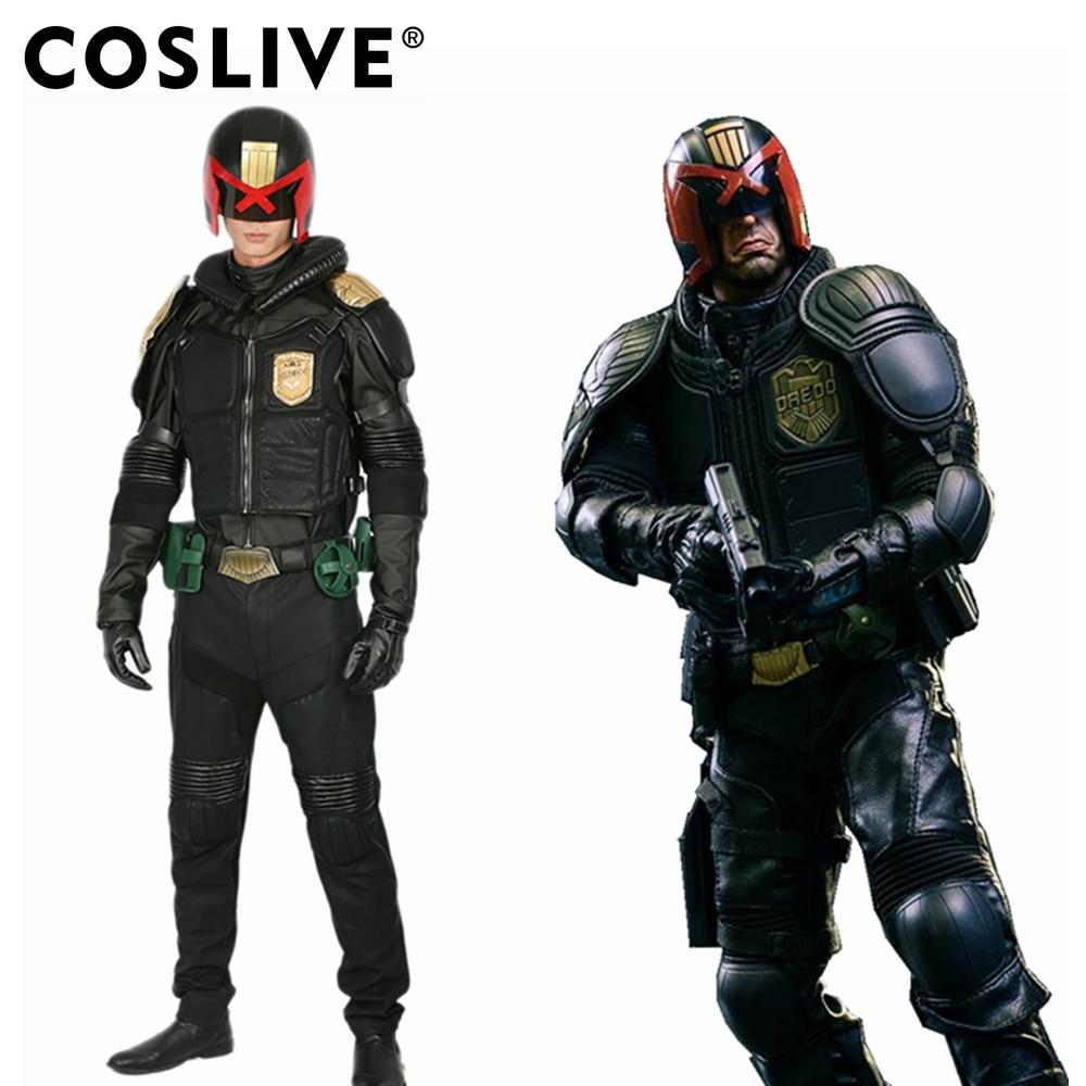 XCOSER Judge Dredd Costume Movie Cosplay Outfit Volwassenen Costume - Carnavalskostuums