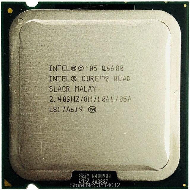 إنتل كور 2 كواد q6600 2.4 جيجا هرتز رباعية النوى المعالج 8 متر 95 واط 1066 lga 775