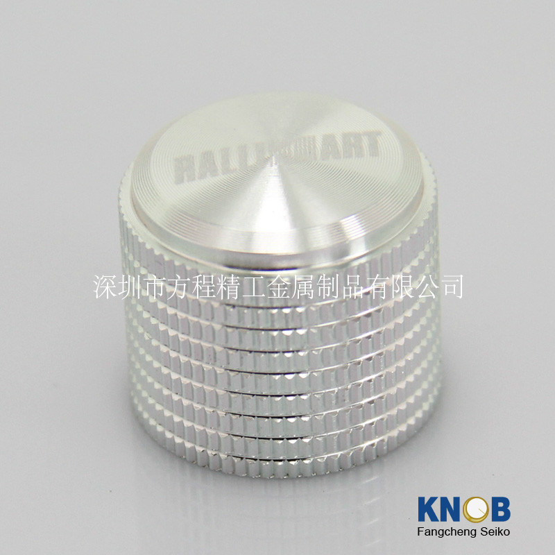 free shipping 1pcs Diameter 20mm high 18.5mm all aluminum solid Volume knob ...
