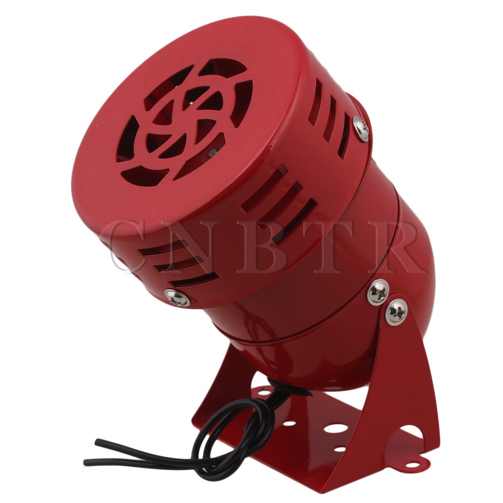 CNBTR Industrial AC 110V 120dB MS-190 Alarm Sound Motor High Power Buzzer Siren ms 490 ac 110v 220v 150db motor driven air raid siren metal horn double industry boat alarm