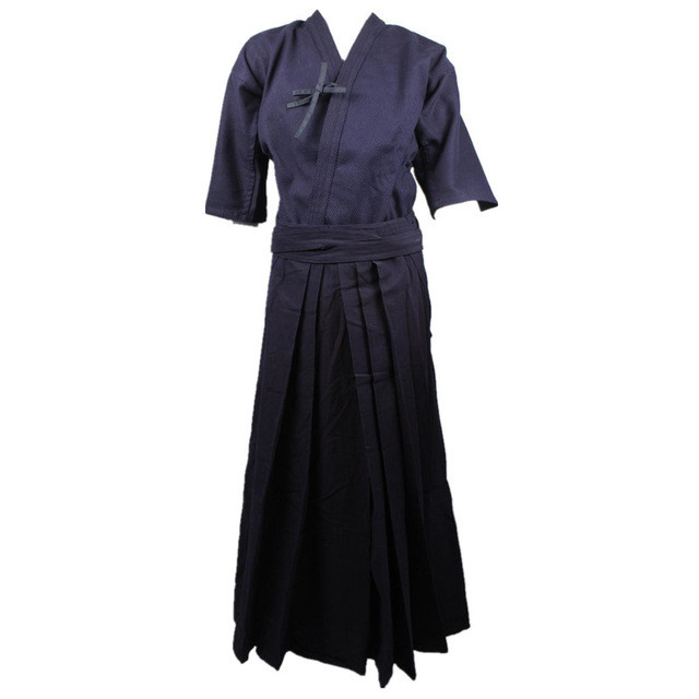 Japanese Samurai Style Baggy Hakama Pants Martial Art Uniforms Kendo Uniforms Trousers Iaido Aikido Hapkido Hakama 03 aikido gi uniform cotton hapkido pants kendo hakama black japanese samurai traditional mens women kids keikogi adult