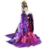 14 Collectible Chinese Ancient Costume Dolls With 3D Realistic Eyes Traditional Chinese BJD Doll Toys Birthday Gifts