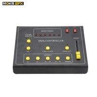 DMX Пожарная машина контроллер мини dmx 512 контроллер переключатель кнопка эффект демо для dmx Пламя машина