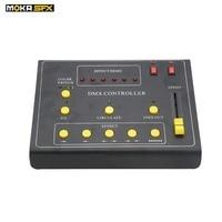DMX fire machine controller mini dmx 512 controller Switch Button Effect Demo for dmx flame machine