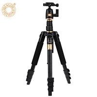 QZSD Q555 55.5 Inches Aluminium Alloy Camera Video Tripod Monopod with Quick Release Plate