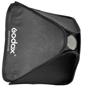 Image 2 - Godox 50 × 50 センチメートルソフトボックス (のみソフトボックス) カメラスタジオフラッシュフィット Bowens Elinchrom マウント