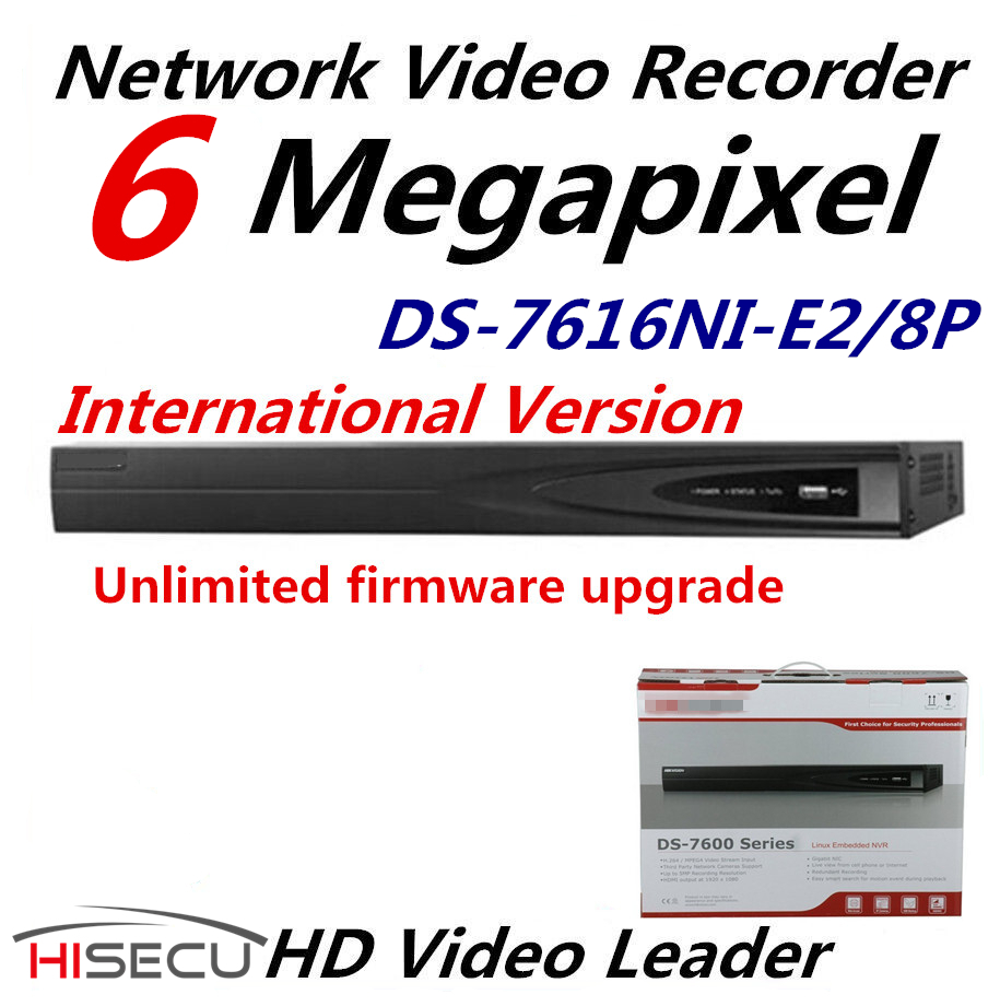 English Version NVR DS 7616NI E2 8P 16CH 8POE And 2SATA Network Interfaces Case NVR HD