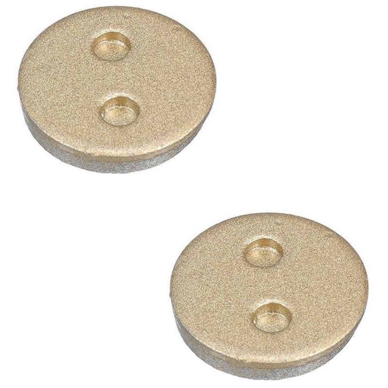 Disk Brake Disc Rotors Pads Mtb Mountain Bike Bicycle Semi-Metallic Parts For Xiaomi Mijia Skateboard Smart Scooter(China)