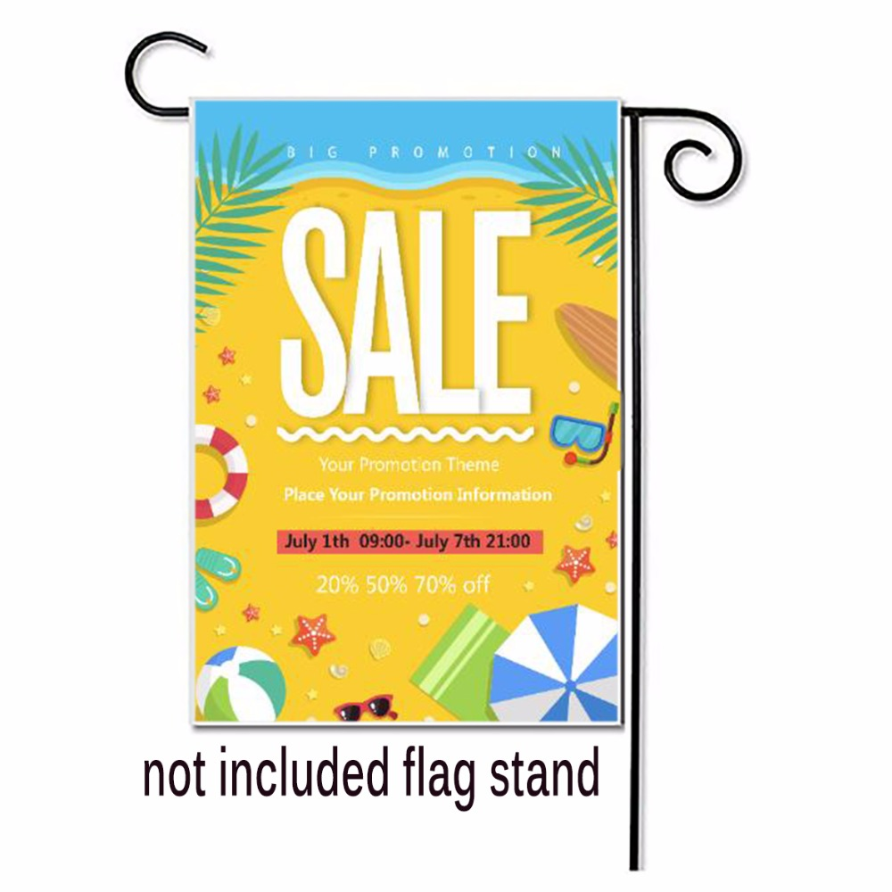 Garden Flags Double Side Printed