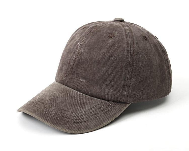 Summer Denim Baseball Cap Women Ponytail Solid Adjustable Caps Snapback Outdoor Shade Sports Men Baseball Caps(China)