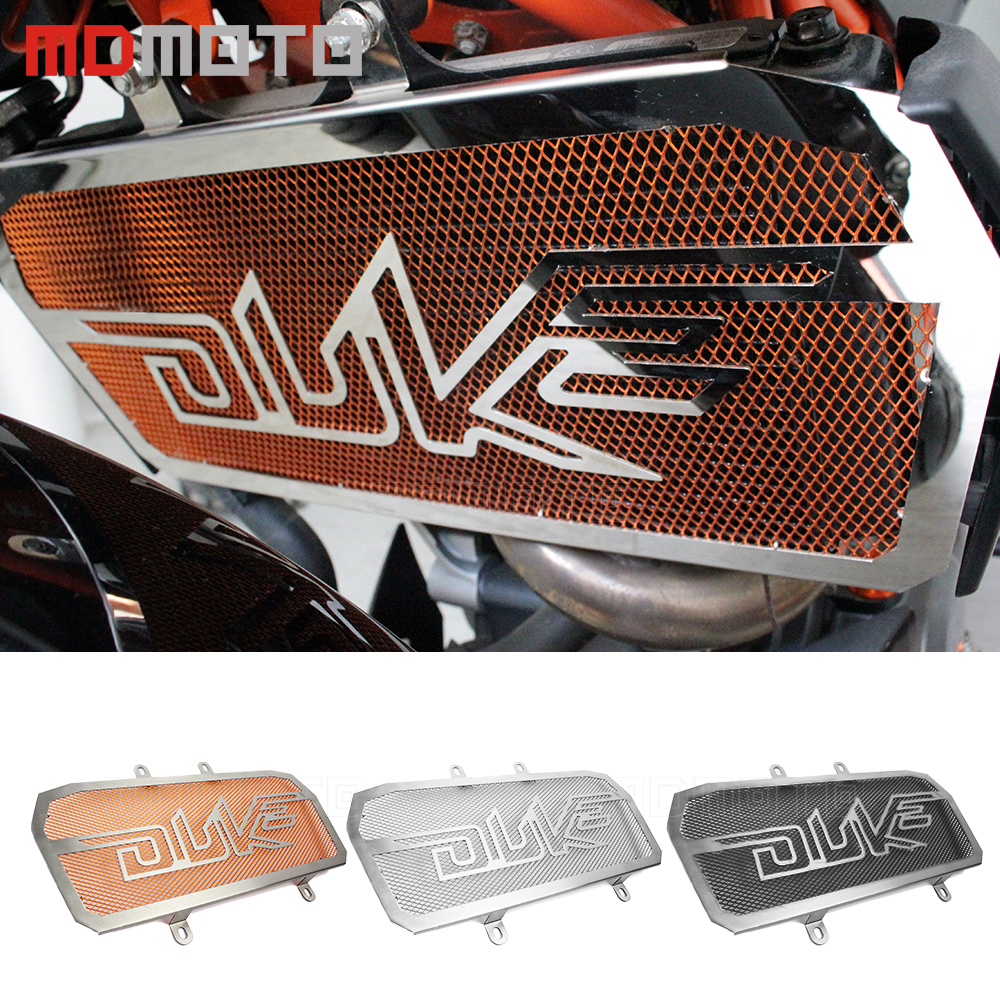 For KTM Duke 125 200 390 duke125 Motorcycle Accessories Parts Stainless Steel Radiator Grill Guard Cover Protector Cnc Motorbike new orange cnc frame sliders protectors guard for ktm duke 125 200 390 2012 13 14 15