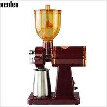 Xeoleo 250g Électrique moulin à Café moulin à Café machine boîte en acier Inoxydable Anti-saut Plat Roue rectifieuse Café grinder
