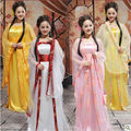 12 cores tradicional das mulheres Tang chinês antigo traje bela dança dinastia Hanfu traje da princesa Opera chineses Hanfu vestido