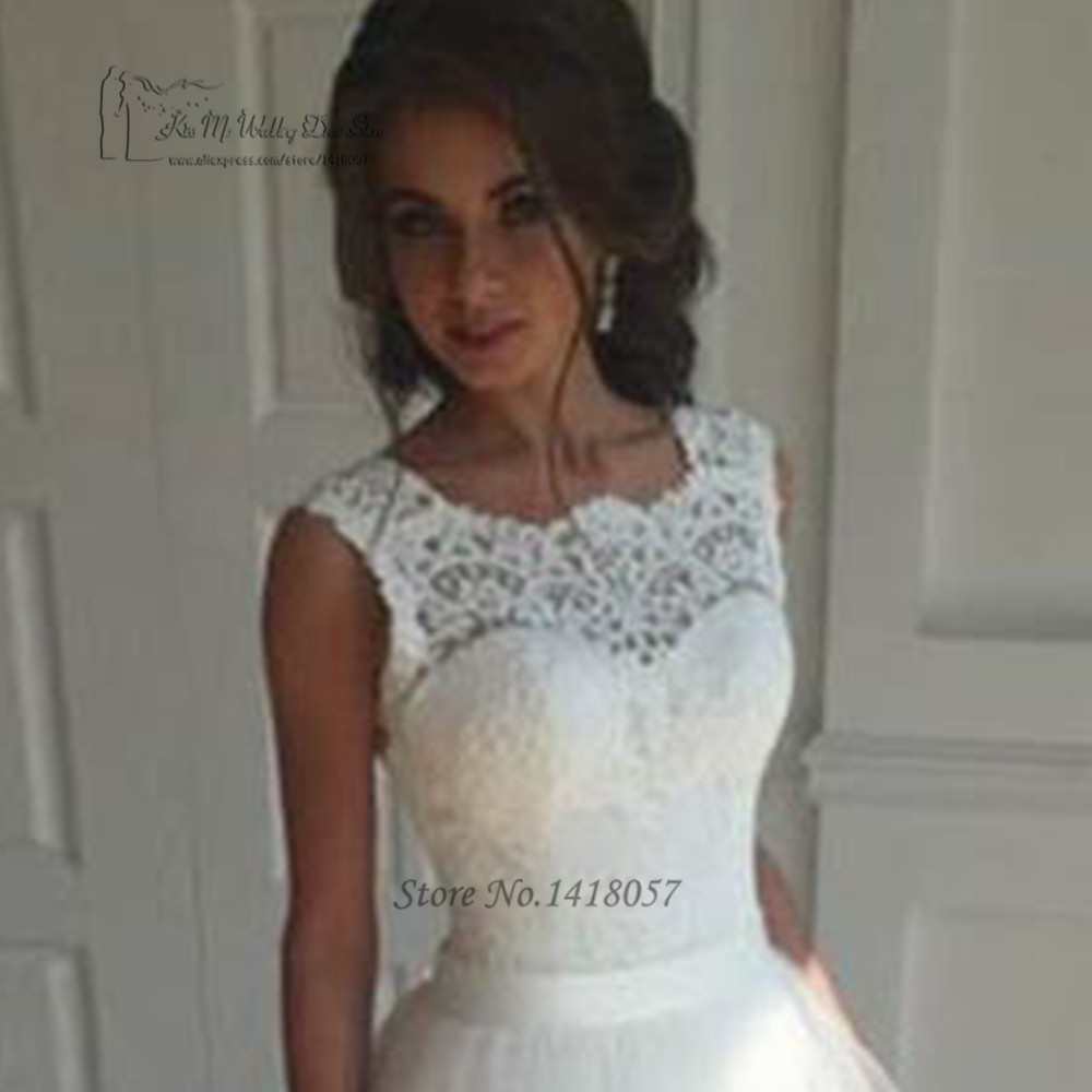 Weiße Vintage Hochzeit Kleid Plus Größe Vestidos de Noiva 2017 ...