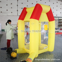 inflatable money machine inflatable cash machine for speed promotion inflatable games