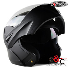 Free shipping 2017 New Flip Up Motorcycle Helmet double lens Inner Sun Visor DOT approved casco capacete