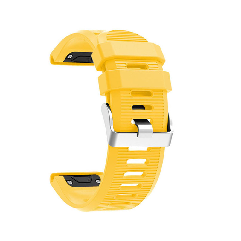 26 22 20mm Watchband for Garmin Fenix 5X 5 5S Plus 3 3 HR Forerunner 935 Watch Quick Release Silicone Easy fit Wrist Band Strap 3