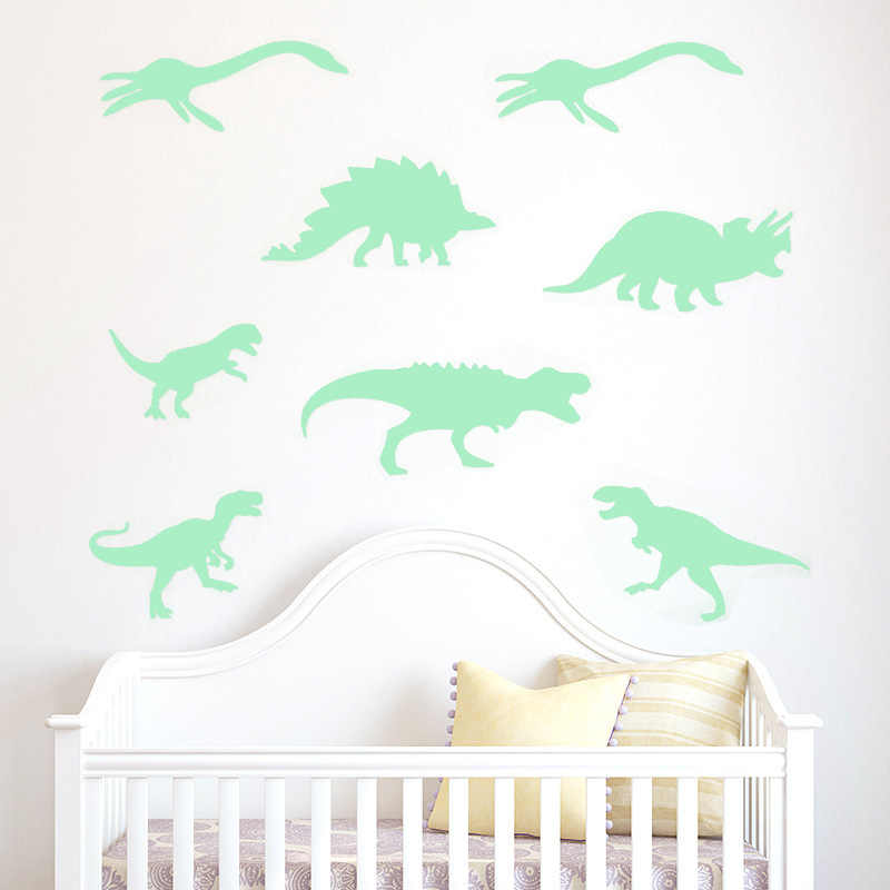 detail feedback questions about luminous dinosaur wall stickers glow