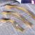 Ouro e Prata Liga de Zinco Armário de Cozinha Móveis Puxadores Puxadores de Gaveta Porta do Armário Puxar com Parafusos 5011 Design Simples