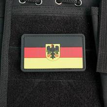 Army Flag of Germany 3D PVC patch PB007(China)