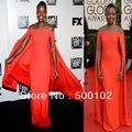 71th Golden Globes Red Carpet Dresses Lupita Nyong'o Off the Shoulder Portrait Sheath Long Gown Evening Dresses