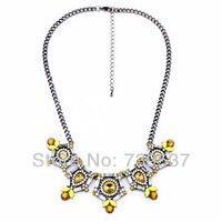 Xl00739 Fair Trade Citrine Necklace Mexican Silver Accessory For Sale
