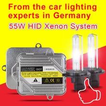 цена на 1 Set Fast bright 55W Xenon H3 HID Kit H1 H7 H8 H9 H11 9005 Original Canbus Hid Xenon Kit 3000K 4300K 6000K 8000K Slim Ballast