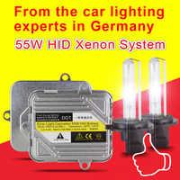 1 Set Fast bright 55W Xenon HID Kit H7 H8 H1 H11 9005 9006 H9 Car HID Xenon Conversion Kit 3000K 4300K 6000K 8000K Slim Ballast