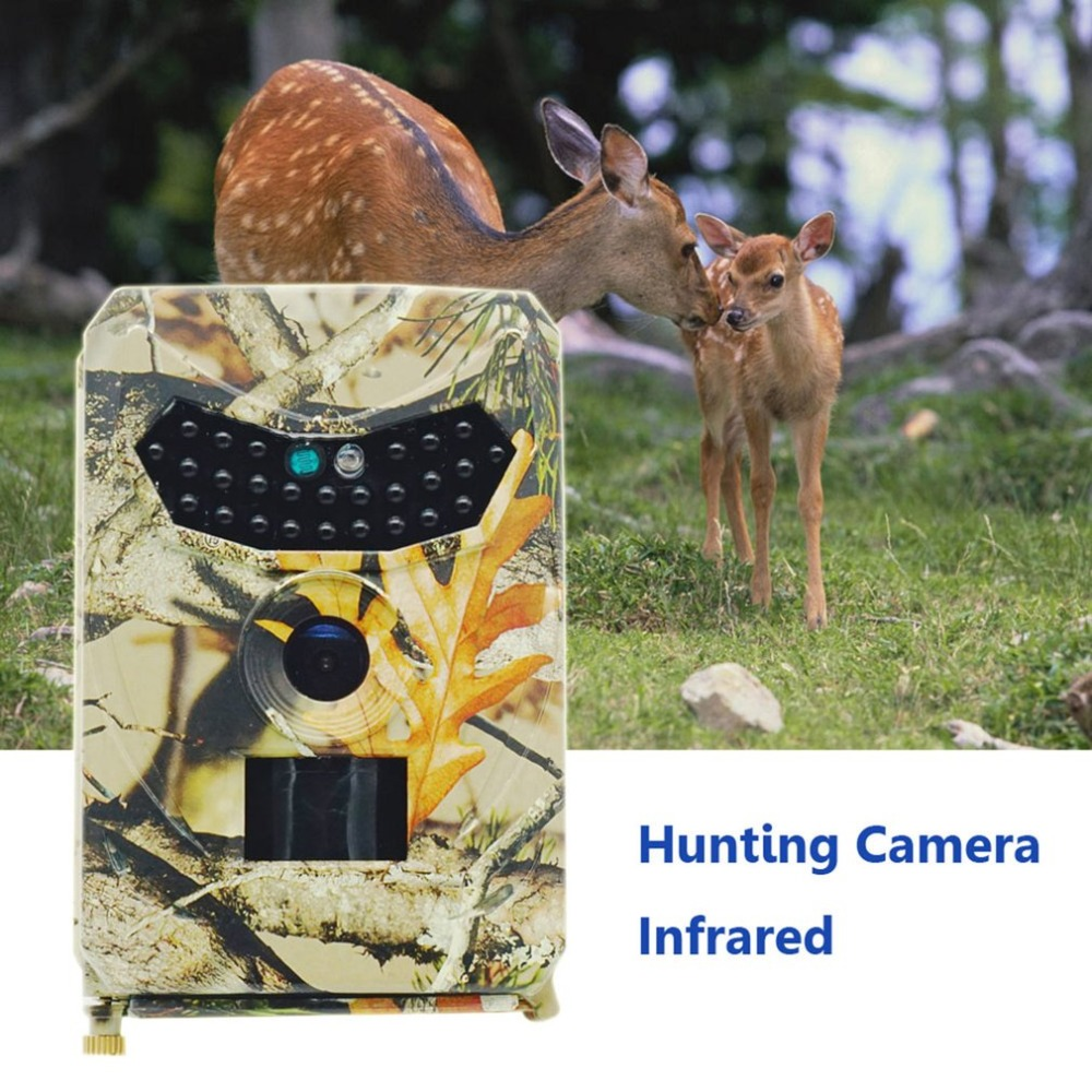 SP-100 Outdoor Hunting Trail Camera Full HD 12MP 1080P Night Vision Video Camera MMS GPRS Scouting Infrared Hunter Cam suntek hunting trail camera hc 300m hc350m full hd 12mp 1080p video night vision mms gprs scouting infrared trail camera