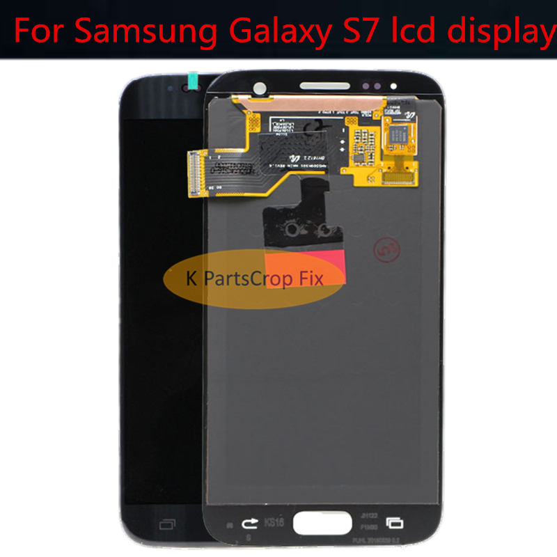"""5.1"""" For SAMSUNG GALAXY S7 G930A G930F G930 LCD Display Touch Screen Digitizer Assembly Replacement For SAMSUNG S7 G930W8  LCD"""