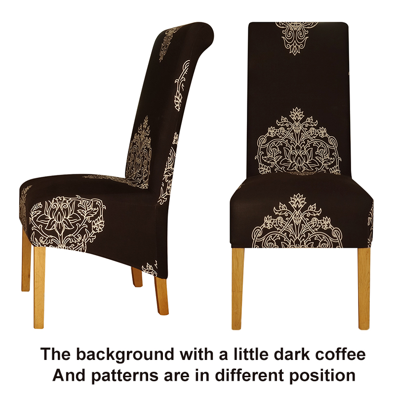 Genial Large Size Long Back Chair Cover King High Back Spandex Fabric Chair Covers  Resterant Hotel Party Banquet Chair Slipcovers In Chair Cover From Home U0026  Garden ...