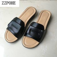 Summer New Mother Large Size Slippers Leisure Comfortable Woman Cool Slippers In The Elderly Soft Bottom