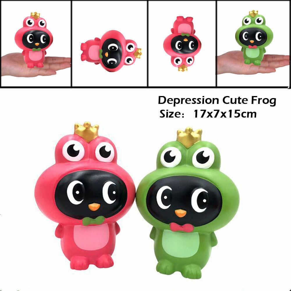 Jouets anti-Stress lente augmentation jouet parfumé anti-Stress grenouilles mignonnes parfumées Super lente augmentation enfants jouet a528