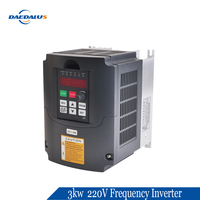 Deadalus 3kw 220V Frequency Inverter High Quanlity for CNC Spindle motor speed Control VFD .